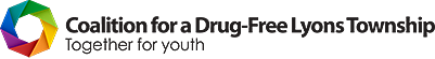 Coalition for a Drug-Free Lyons Township Retina Logo