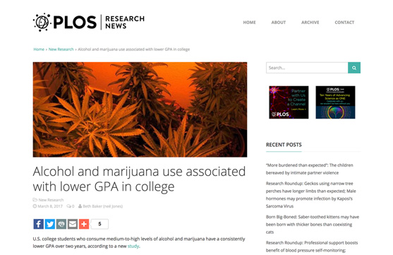 PLOS Research news
