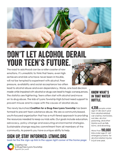 Don't let alcohol derail your teen's future