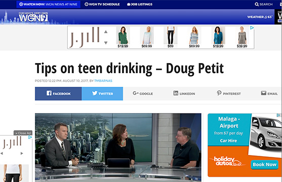 Tips on teen drinking – Doug Petit